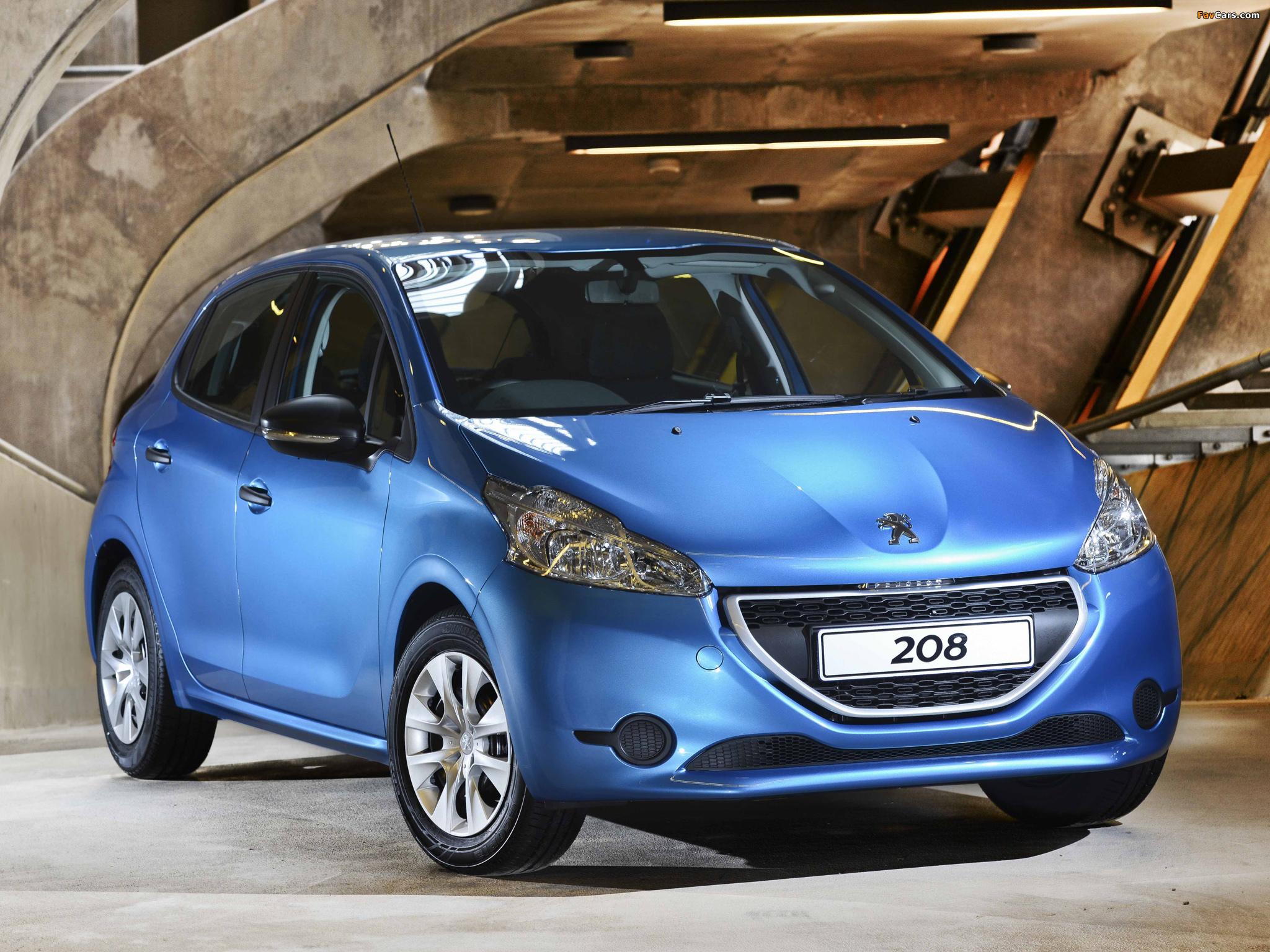 Pictures of Peugeot 208 5-door ZA-spec 2012 (2048 x 1536)