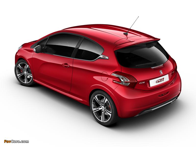 Peugeot 208 GTi 2012 wallpapers (800 x 600)