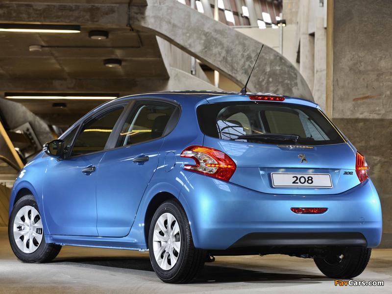 Peugeot 208 5-door ZA-spec 2012 wallpapers (800 x 600)