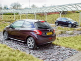 Peugeot 208 XY 3-door UK-spec 2013 wallpapers