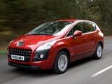 Images of Peugeot 3008 UK-spec 2009