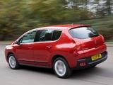 Peugeot 3008 UK-spec 2009 pictures