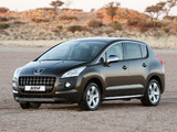 Peugeot 3008 ZA-spec 2010–13 photos