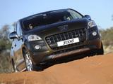 Peugeot 3008 ZA-spec 2010–13 pictures