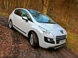 Peugeot 3008 HYbrid4 UK-spec 2011 photos