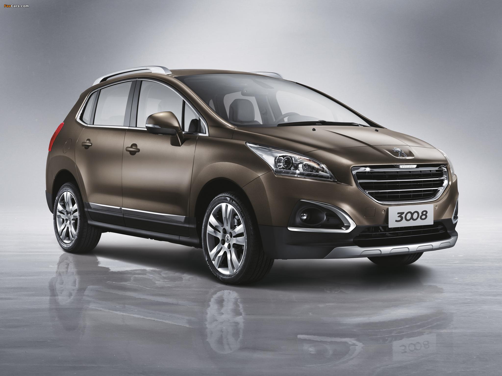 Peugeot 3008 CN-spec 2013 images (2048 x 1536)