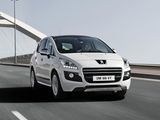 Photos of Peugeot 3008 HYbrid4 2011