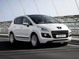 Photos of Peugeot 3008 HYbrid4 2011