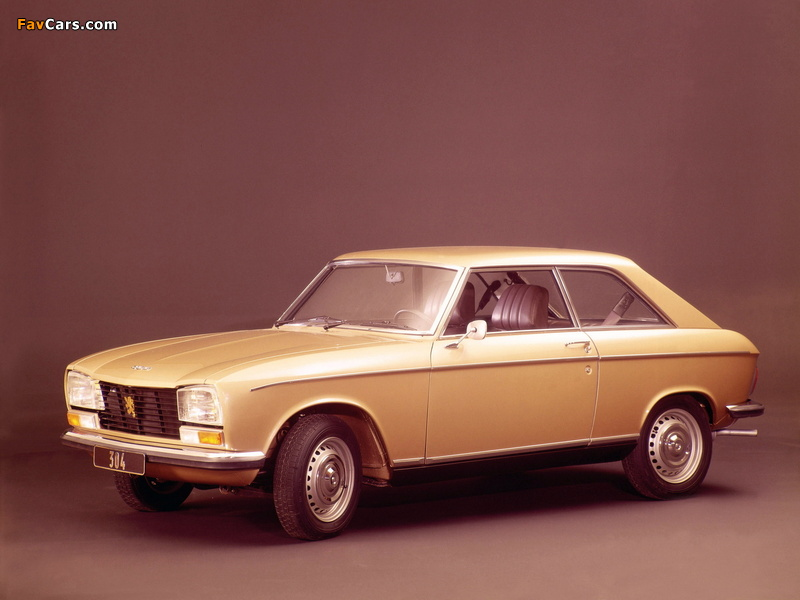 Peugeot 304 Coupe 1970–75 images (800 x 600)