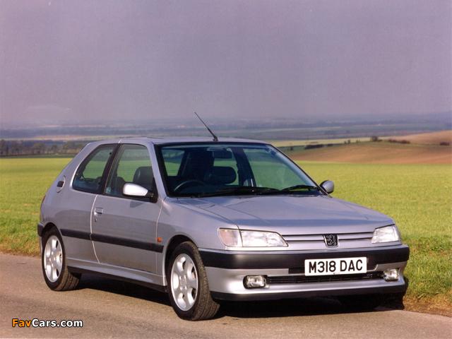 Images of Peugeot 306 S16 UK-spec 1993–97 (640 x 480)