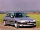 Images of Peugeot 306 S16 UK-spec 1993–97