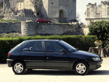 Peugeot 306 5-door 1993–97 wallpapers