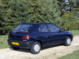Peugeot 306 3-door 1993–97 wallpapers