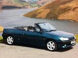 Peugeot 306 Cabriolet UK-spec 1994–97 images