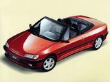 Peugeot 306 Cabriolet 1994–97 photos