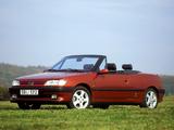 Peugeot 306 Cabriolet 1994–97 pictures