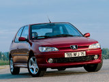 Peugeot 306 3-door 1997–2002 images