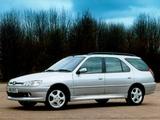 Peugeot 306 Estate 1997–2002 images