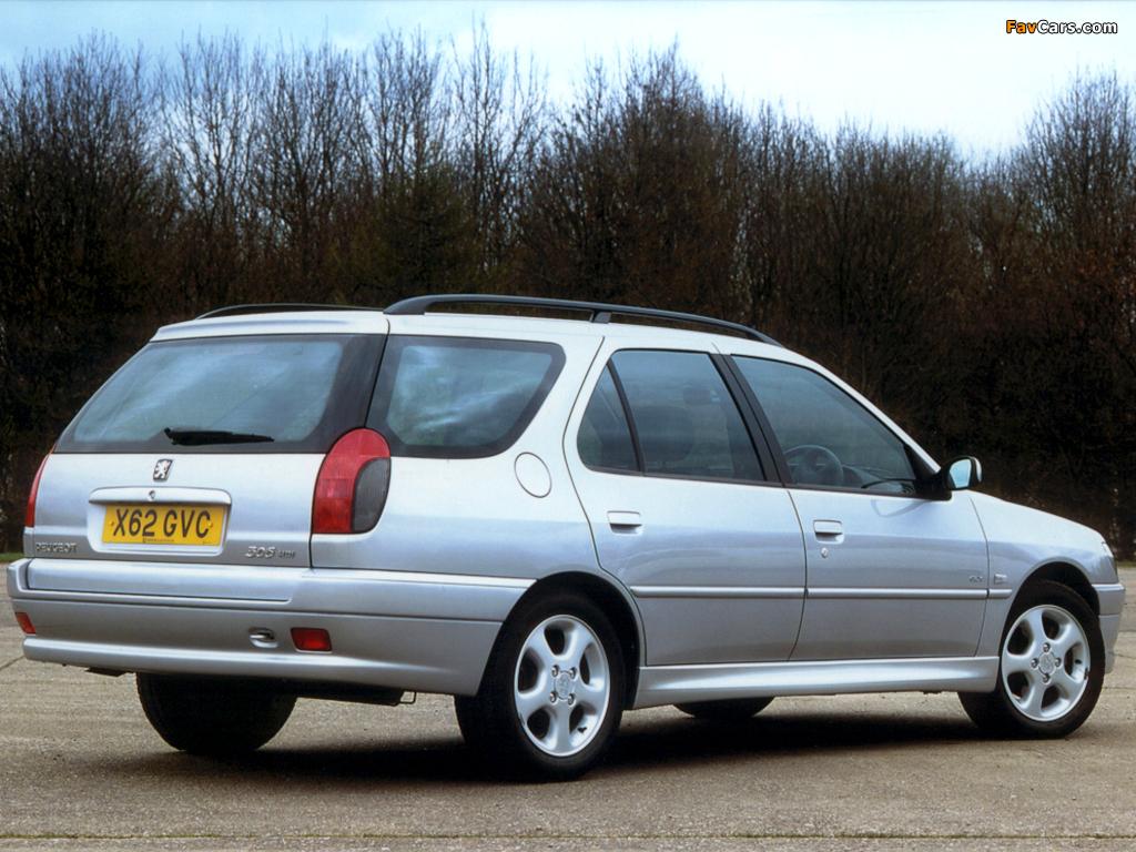 Photos of Peugeot 306 Estate 1997–2002 (1024 x 768)