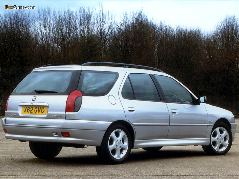 Photos of Peugeot 306 Estate 1997–2002 (800 x 600)