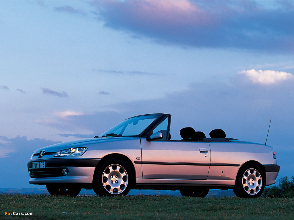 Photos of Peugeot 306 Cabriolet 1997–2002 (1024 x 768)