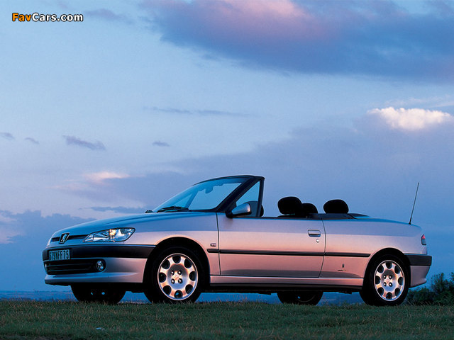 Photos of Peugeot 306 Cabriolet 1997–2002 (640 x 480)
