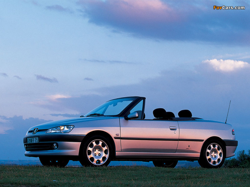 Photos of Peugeot 306 Cabriolet 1997–2002 (800 x 600)