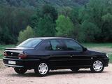 Pictures of Peugeot 306 Sedan 1997–2000