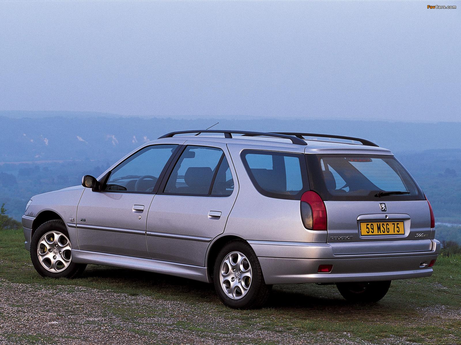 Peugeot 306 Break 1997–2002 wallpapers (1600 x 1200)