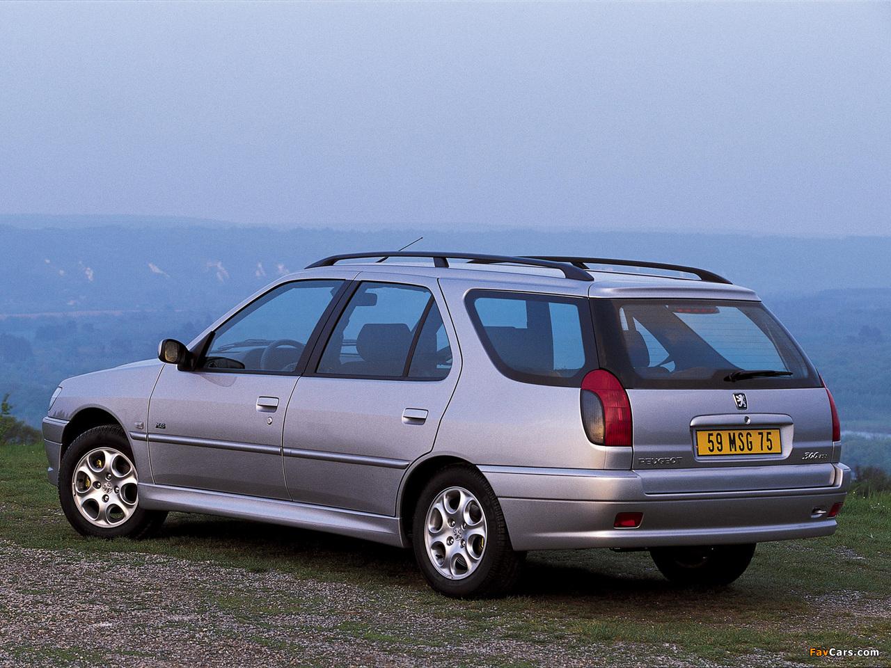 Peugeot 306 Break 1997–2002 wallpapers (1280 x 960)