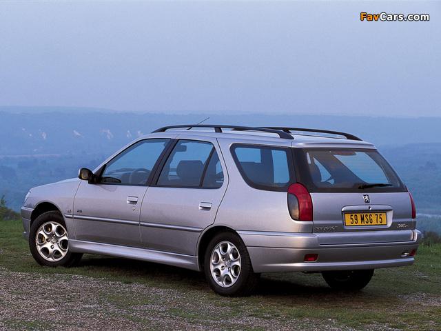 Peugeot 306 Break 1997–2002 wallpapers (640 x 480)