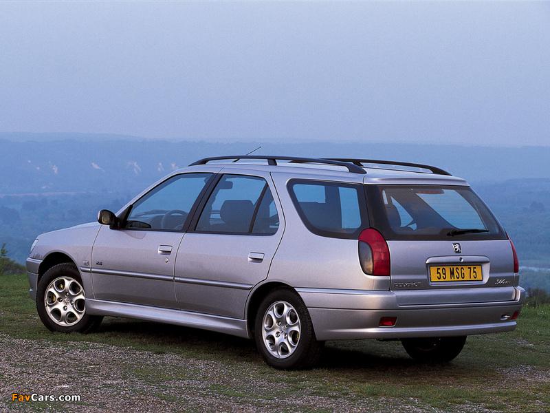 Peugeot 306 Break 1997–2002 wallpapers (800 x 600)