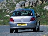 Peugeot 307 3-door 2001–05 pictures