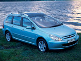Peugeot 307 SW 2002–05 pictures