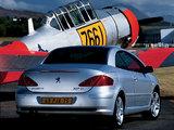 Peugeot 307 CC 2003–05 photos