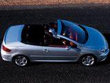 Peugeot 307 CC 2003–05 pictures