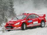 Peugeot 307 WRC 2004–05 photos