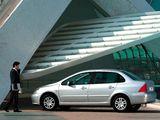 Peugeot 307 Sedan CN-spec 2004–07 pictures