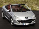 Peugeot 307 CC 2005–08 images