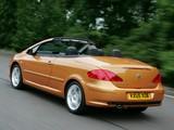 Peugeot 307 CC UK-spec 2005–08 photos