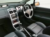 Peugeot 307 CC UK-spec 2005–08 pictures