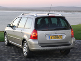 Peugeot 307 SW 2005–08 pictures