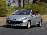 Peugeot 307 CC 2005–08 wallpapers
