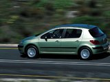 Photos of Peugeot 307 5-door 2001–05