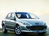 Photos of Peugeot 307 Sedan CN-spec 2007
