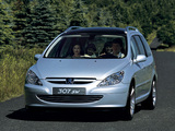 Pictures of Peugeot 307 SW Concept 2001