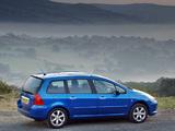 Pictures of Peugeot 307 SW UK-spec 2005–08