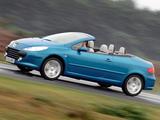 Pictures of Peugeot 307 CC UK-spec 2005–08