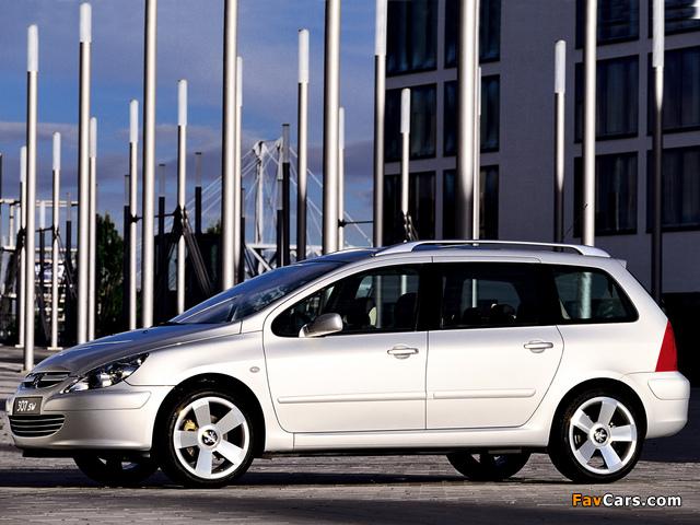 Peugeot 307 SW Concept 2001 wallpapers (640 x 480)