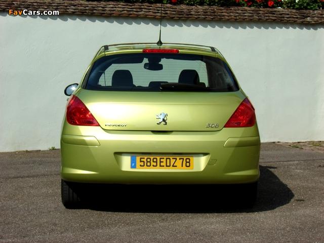Images of Peugeot 308 5-door 2007–11 (640 x 480)